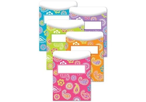 Creative Teaching Press Paisley Doodles Library Pockets
