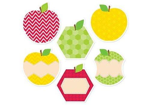 """Creative Teaching Press HexaFun Apples 6"""" Designer Cut-Outs * (D)"""