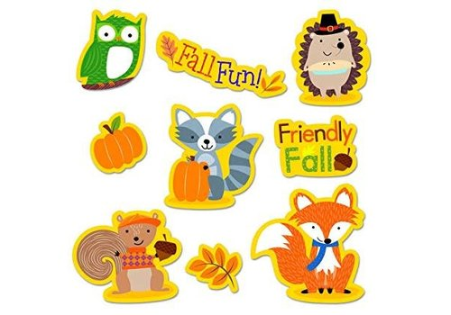 Creative Teaching Press Fall Woodland Friends Stickers