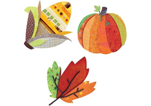 "Creative Teaching Press Autumn Harvest 6"" Designer Cut-Outs"