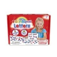 Rainbow Letters - 62 Magnetic Pieces