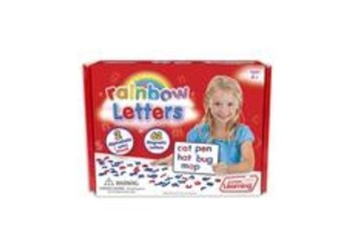 JUNIOR LEARNING Rainbow Letters - 62 Magnetic Pieces