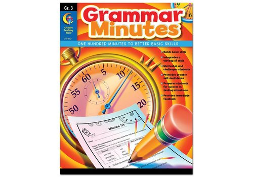 Creative Teaching Press Grammar Minutes Gr 3