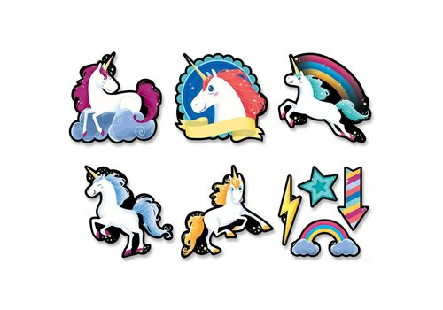 "Creative Teaching Press Unicorn Cut-Outs 6"""