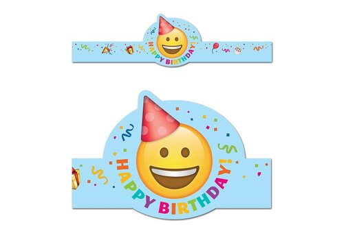 Creative Teaching Press Emoji Fun Happy Birthday Crown