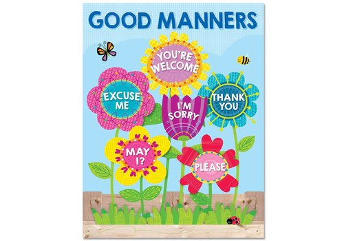 Creative Teaching Press Garden of Good Manners Chart