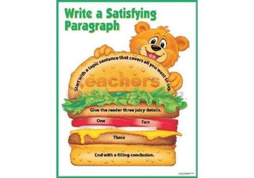 Creative Teaching Press Write a Satisfying Paragraph Chart*