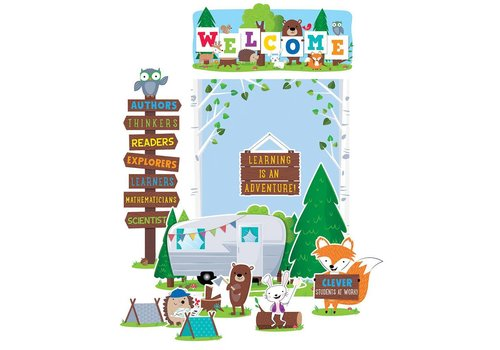 Creative Teaching Press Woodland Friends Woodland Welcome Bulletin Board