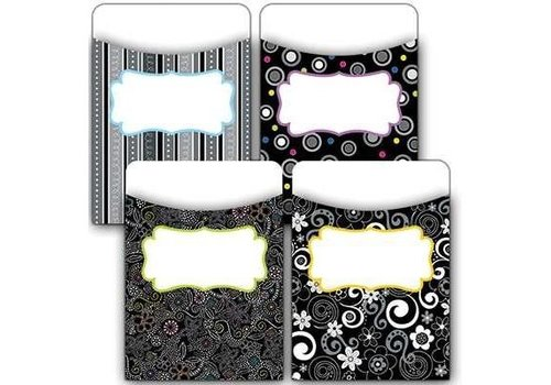 Creative Teaching Press BW Collection Library Pockets - Jumbo