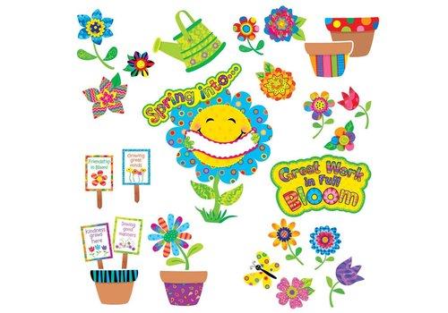 Creative Teaching Press Spring Garden Bulletin Board Set