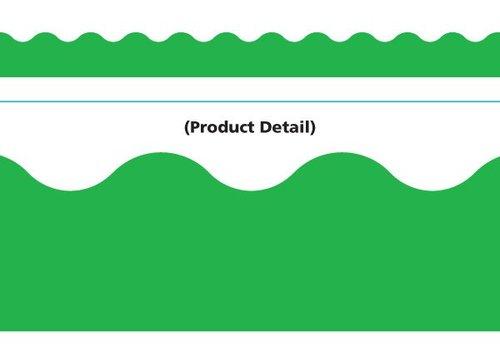 Trend Enterprises Green Scalloped Border