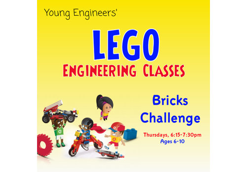 Young Engineers - Bricks Challenge Class