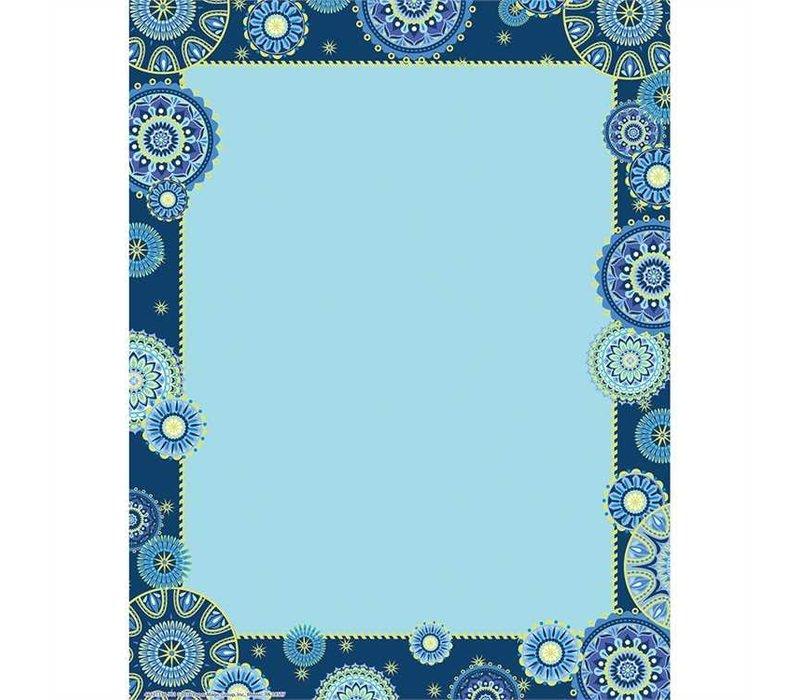 Blue Harmony Computer Paper*