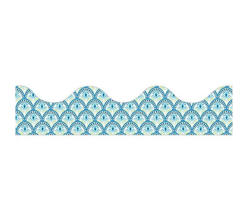 Blue Harmony - Peacock Border *