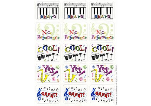 EUREKA Music Motivator Stickers *