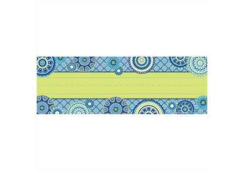 EUREKA Blue Harmony Name Plates Self-Adhesive