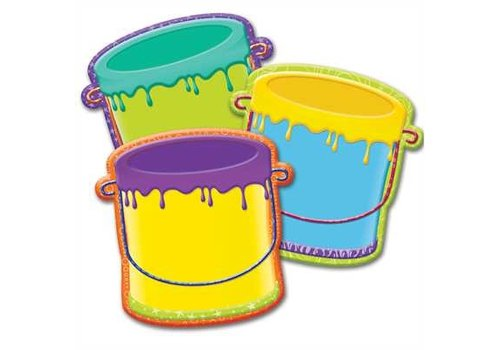 EUREKA Color My World Buckets Accents