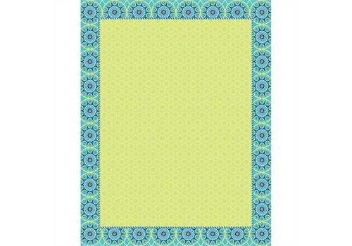 EUREKA Blue Harmony Blank Chart