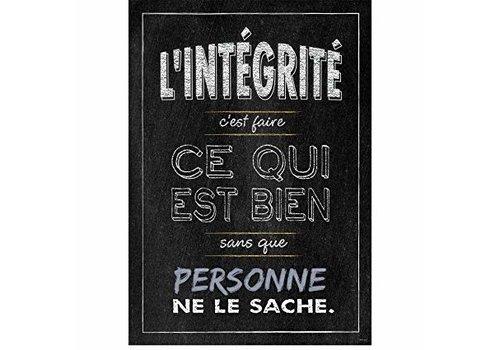 Creative Teaching Press L'integrite...poster