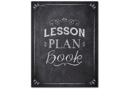 Creative Teaching Press Chalk It Up! Lesson Plan Book