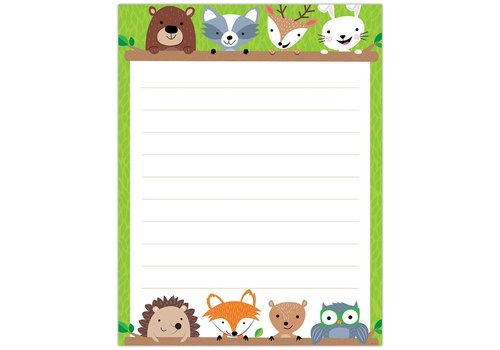 Creative Teaching Press Woodland Friends Blank Chart, Lined*