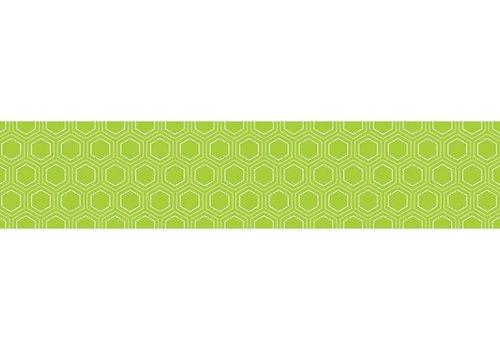 Creative Teaching Press HexaFun Lime Green Mini Hexagons Border
