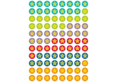 Creative Teaching Press Bright Stars Hot Spot Stickers