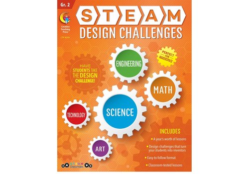 Creative Teaching Press Steam Design Challenges 2