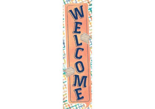 EUREKA Confetti Splash Welcome Banner *