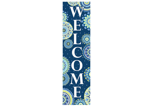 EUREKA Blue Harmony Welcome Banner
