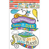 Dr. Seuss Oh the Places You'll Go Bulletin Board Set