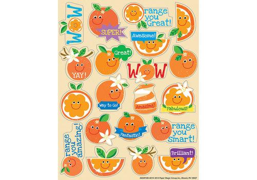 EUREKA Orange Scented Stickers *