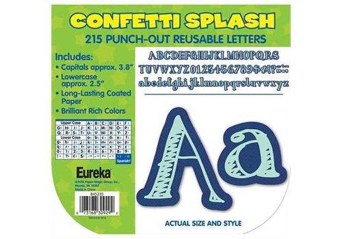 EUREKA Confetti Splash Canvas Letters *