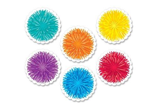 "Creative Teaching Press Pom Pom Cut-Outs 3"""