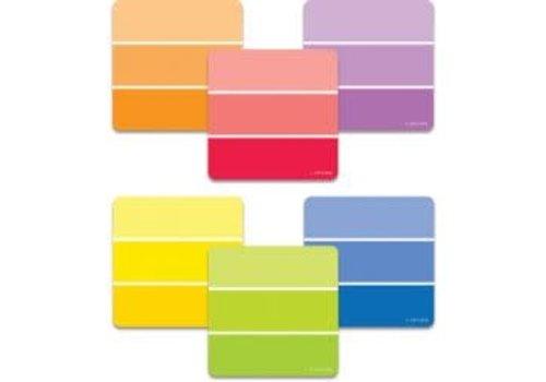 "Creative Teaching Press Painted Palette Paint Chips 3"" Designer Cut-Outs"
