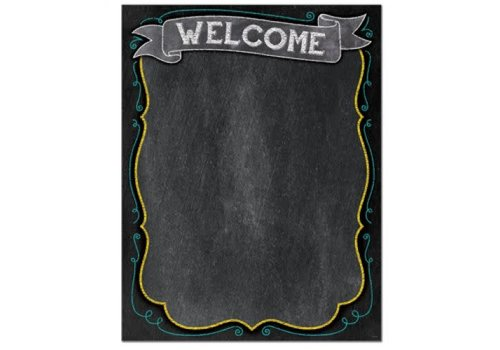 Creative Teaching Press Chalk It Up! Welcome Chart