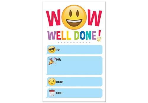 Creative Teaching Press Emoji Fun Well Done! Award