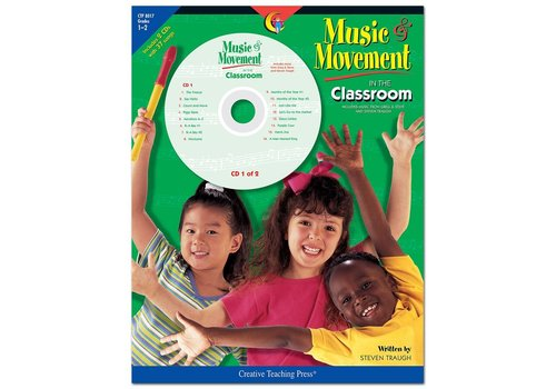 Creative Teaching Press Music and Movement in the Classroom, Gr. 1-2