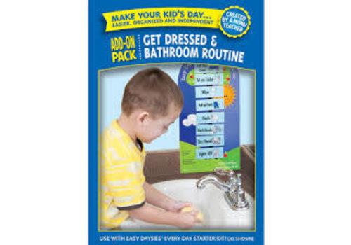 Creative Teaching Press Easy Daysies Get Dressed & Bathroom Routine Add-On Pack