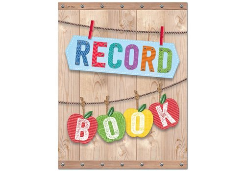 Creative Teaching Press Upcycle Style Record Book