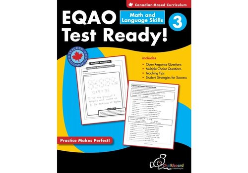 NELSON EQAO Test Ready! Math & Language Skills 3