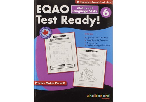 NELSON EQAO Test Ready! Math & Language Skills 6