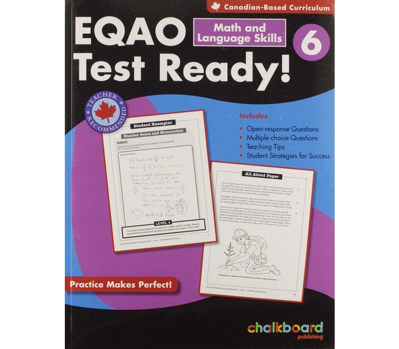 EQAO Test Ready! Math & Language Skills 6 *