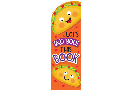 EUREKA Scented Bookmarks - Taco *