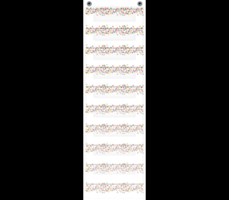 Confetti File Storage - 10 pockets