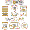 Teacher Created Resources Clingy Thingies - Confetti Positive Sayings *
