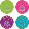 Teacher Created Resources Clingy Thingies - Confetti Clips