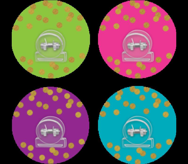 Clingy Thingies - Confetti Clips