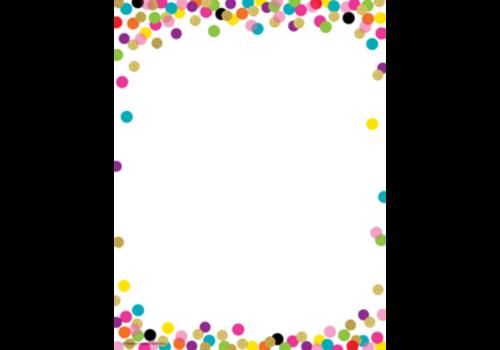 Teacher Created Resources Confetti Computer Paper