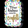 Teacher Created Resources Confetti Magnetic Whiteboard Eraser